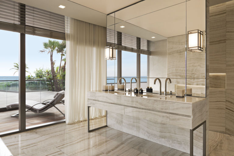 Armani Residences - Master Bathroom