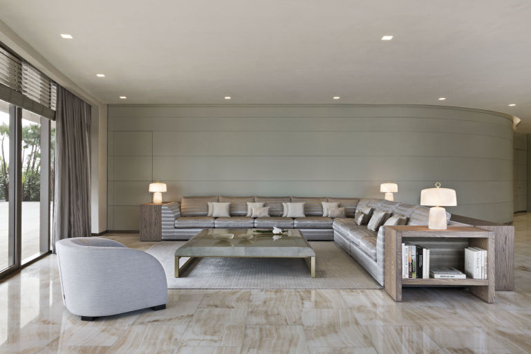 Armani Residences - Living Room