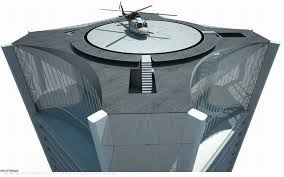 One Thousand Museum Helicopter Pad
